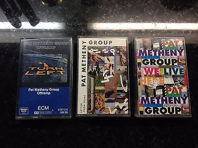 Pat Metheny 3 Rare Tapes Cassettes Offramp Letter From Home We Live Here