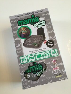 Mamia Bubble Bum Inflatable Portable Car Booster Seat 4-11 Yrs  FREE SHIPPING
