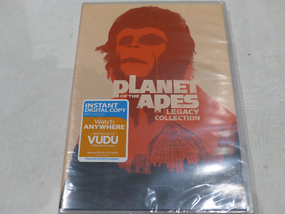 Planet Of The Apes: Legacy Collection Dvd Set New No Slipcover