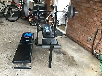 Weight Bench And Weights 30kg