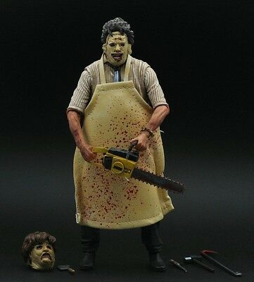 Leatherface The Texas Chainsaw Massacre NECA Action Figur Sammlung Horror Film