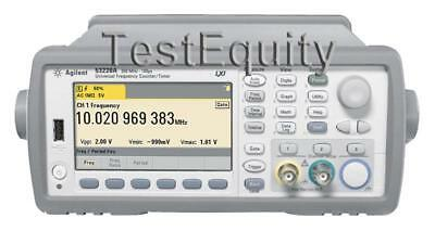 Keysight / Agilent 53220A 400 Universal Frequency Counter / Timer - Stock Photo