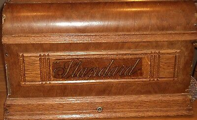 Coffin Lid STANDARD Sewing Machine Cover Antique Lid  from Treadle  FREE Ship