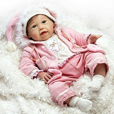 Paradise Galleries Lifelike Realistic Baby Doll, Cuddle Bear Bella, 21 inch Gent