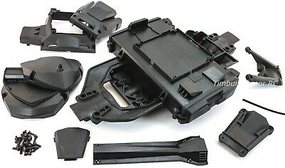 Thunder Tiger e-MTA G2 Main Chassis Assembly Braces Covers Compartments ~ Kaiser