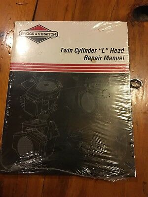 Briggs stratton l head single cylinder engine service shop briggs stratton twin cylinder l head repair manual 604 fandeluxe Image collections