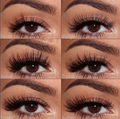 Huda Beauty Mink Collection Natural Fake Artificial False Eyelashes 20 Styles