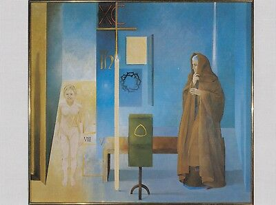 The Revelation Of Divine Love Julian Norwich Visions Painting Norfolk Postcard