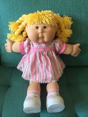 Cabbage Patch Kid 2004 Play Along Kid Blonde