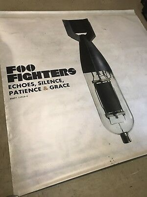 Foo Fighters Echoes, Silence, Patience Vinyl Banner Poster RARE