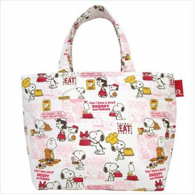 NEW SNOOPY x ROOTOTE THERMO KEEPER LUNCH Peanuts JAPAN FS