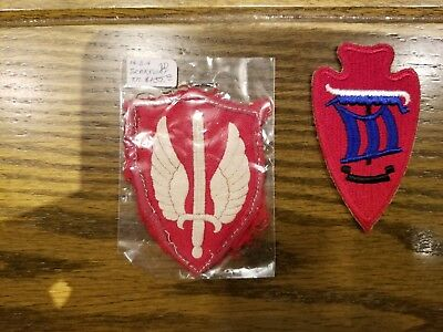 Wwii Military Patches Lot Of 2 (Lot 6)