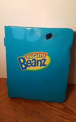 33  Mighty Beanz Beans (including Star Wars) and Blue Carrying Case