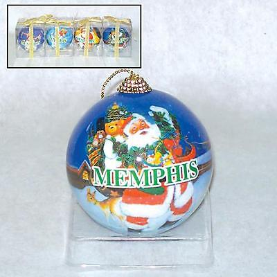 Memphis (3) Christmas Ornament Gifts For. Weddings. Favors, Gifts Bachelorette