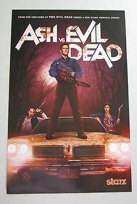 Ash VS Evil Dead Official TV Show Promo Poster Fan Expo Comic Con 2015 11 x 17