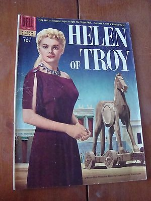Great HELEN OF TROY Silver Age Comic. A Movie Classic BY DELL!