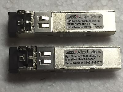 Allied Telesis AT-SPSX SFP Modules x 6