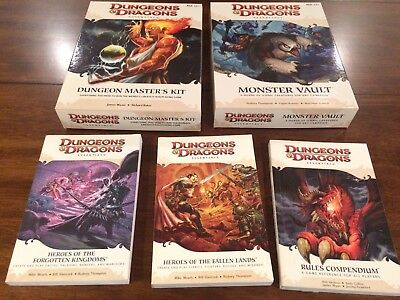 Dungeons and Dragons 4th Edition Essentials Lot