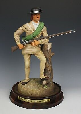 "Royal Doulton Figurine HN2754 Soldiers of the Revolution ""North Carolina"" LE MIN"