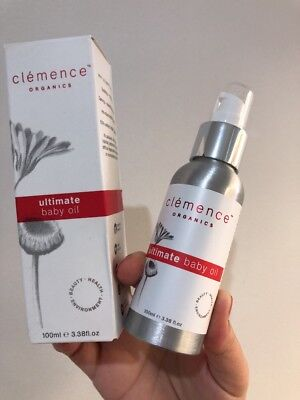 Clemency Organics Ultimate Baby Oil 100ml New