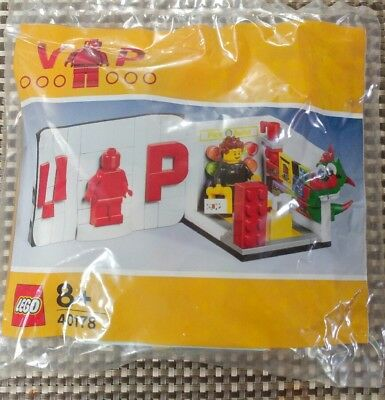 LEGO VIP Limited Set 40178 LEGO mini Store & VIP Card, Brand New, polybag, promo