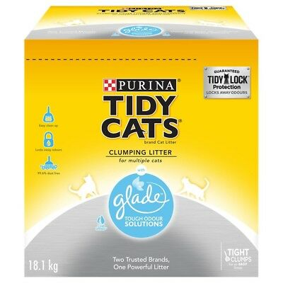 Purina Tidy Cats with Glad Clumping Cat Litter