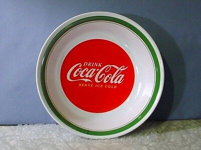 NEW! Gibson DRINK COCA-COLA SERVE ICE COLD LARGE MELMAC SERVING BOWL
