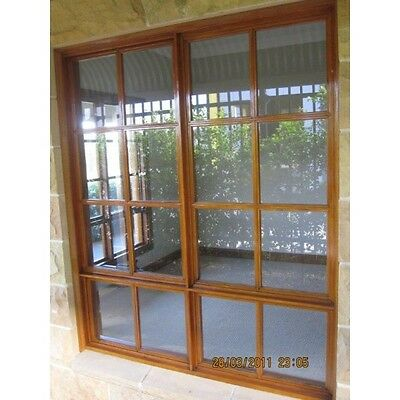Timber Colonial Awning Window Cedar Clear Glass 1720H x 1450W - CED06