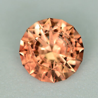 CUSTOM CUT - 8.2MM - 1.79ct - OREGON SUNSTONE - USA