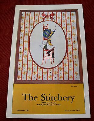 The Stitchery Spring Summer 1973 Catalog Needlpoint Kit Color Booklet T20