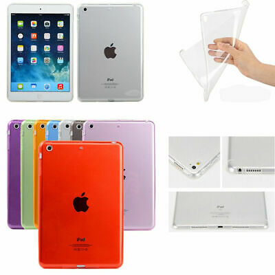 For iPad Mini 1 2 3 4 Air Pro 6th Genertaion Case Soft TPU Gel Protective Cover