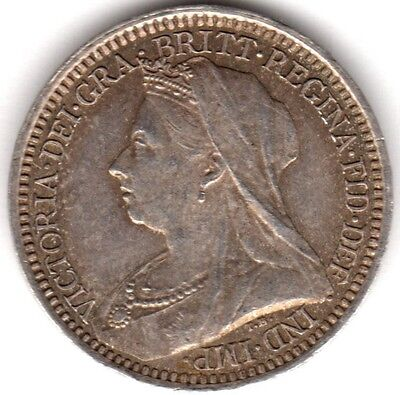 1899 Victoria Silver Twopence***Collectors***