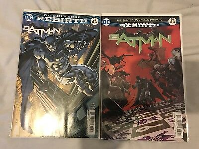 Batman #28 Variant & Batman #29 Cover A DC comics