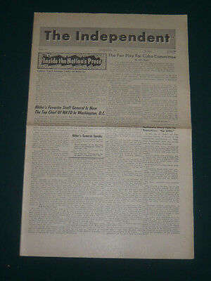 The Independent tabloid/Sept 1961/Nazi NATO Chief/Spain Jehovah's Witnesses