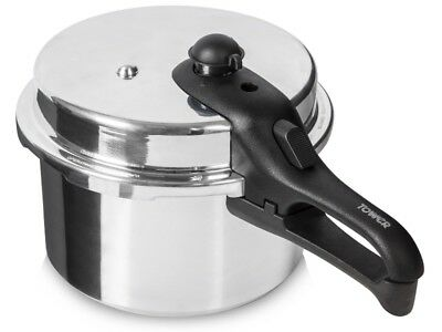Tower T80210 Aluminium Induction High Dome Pressure Cooker Steamer 5.5L