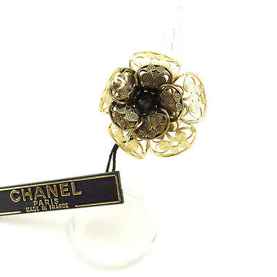 Auth CHANEL ring ladies used J7464