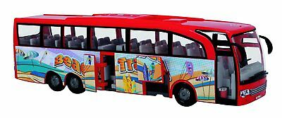 Touring Bus Beach Travel Reisebus rot 1:43 Dickie Toys