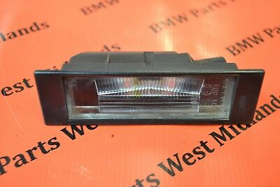 Bmw Z4 E85 E86 1 6 Series E81 E87 E63 E64 Genuine Number Plate Light 7165735