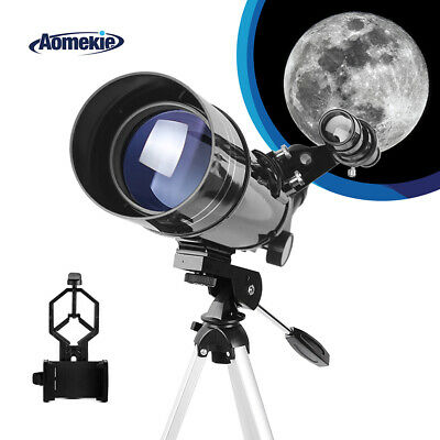 40070 Refractor Telescope For Beginners With Tripod Optical Lens Travel Scope