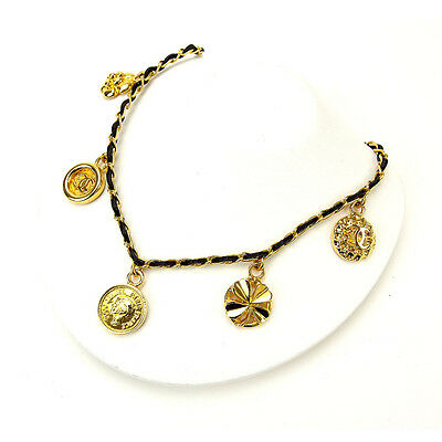 Auth CHANEL necklace ladies used M1261
