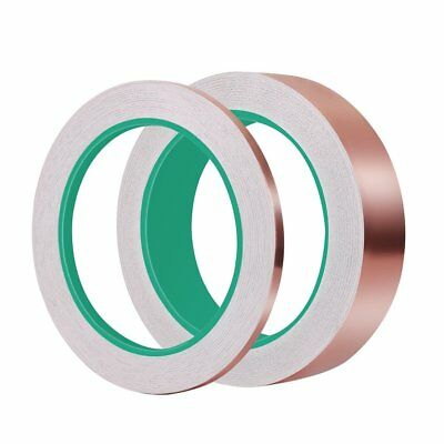 High Temperature Resistant EMI Shielding Double Conductive Copper Foil Tape OZ