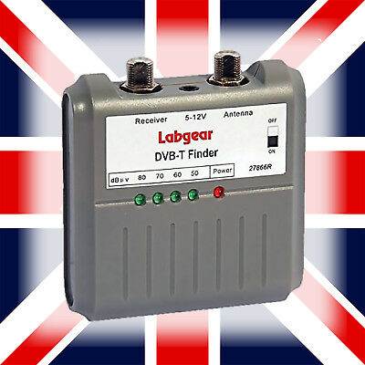 Labgear Digital Freeview Tv Signal Finder Meter - UK SELLER FIRST CLASS POSTAGE