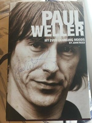 Paul Weller / The Jam Signed Book - My Ever Changing Moods