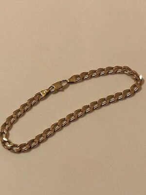 9ct gold Chain Bracelet