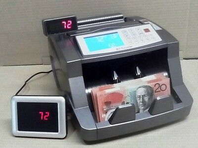 Auscount  Aus5500Rv Money Counting Machine  Anti -Counterfeit Rechargeable