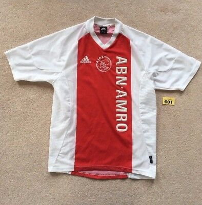Ajax Football shirt  2002 / 03 adidas Small Home shirt
