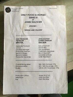 Only Fools & Horses: 'Heroes and Villains' TV Script