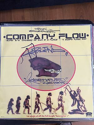 Company Flow - Blind Hip Hop 12 Classic Rawkus Records 2nd Release! N Mint!!