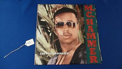 Record Lp Album Capitol Records Mc Hammer Let's Get It Started Usa 1988