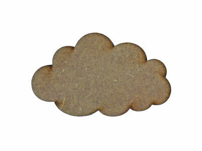 Cloud MDF Laser Cut Craft Blanks in Various Sizes